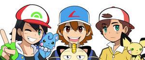 Poke-Kid Trio