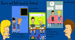 Beavis and Butthead to Android