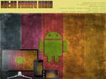 Retro Grunge Droid Wallpaper