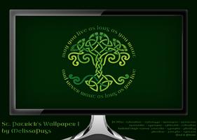 St. Patrick's Wallpaper I by melissapugs
