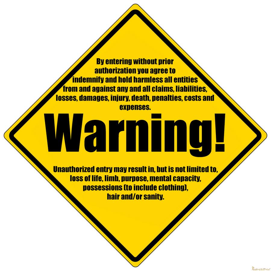 Warning Sign Png Warni...