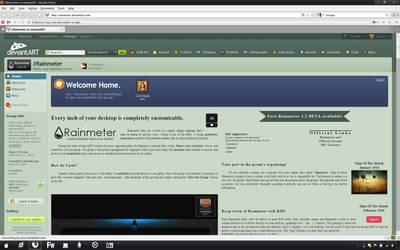 30k Pageview for Rainmeter by Rasylver