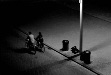 night bicycle