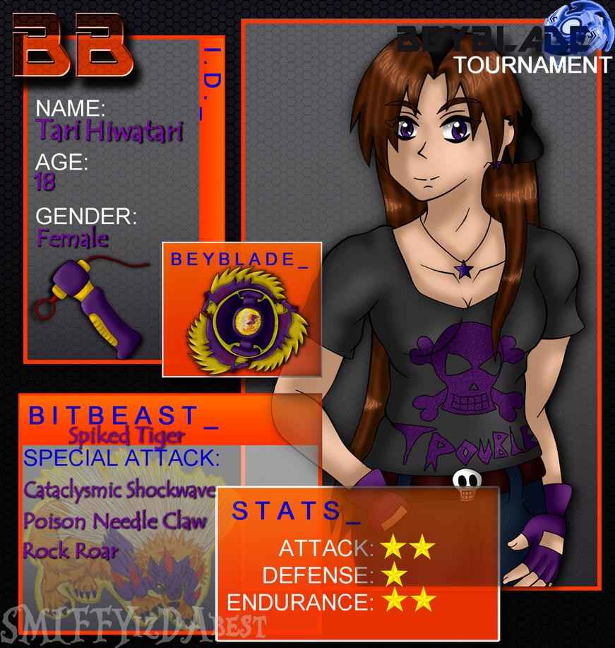 BBT1: Tari's application by CapitainSmiffy on DeviantArt