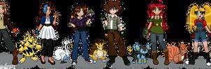 CO: OC Pokemon Crossover 1 - Trainers
