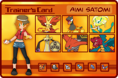 PK: Aimi Trainer Card by CapitainSmiffy
