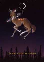 The doe that grew antlers