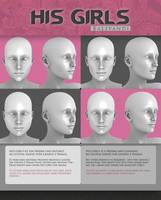 HIS GIRLS - FREEBIE by Virtual-Fox