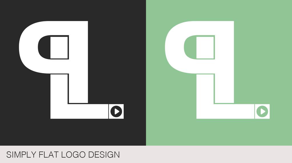 Flat Logo Design by PLArts