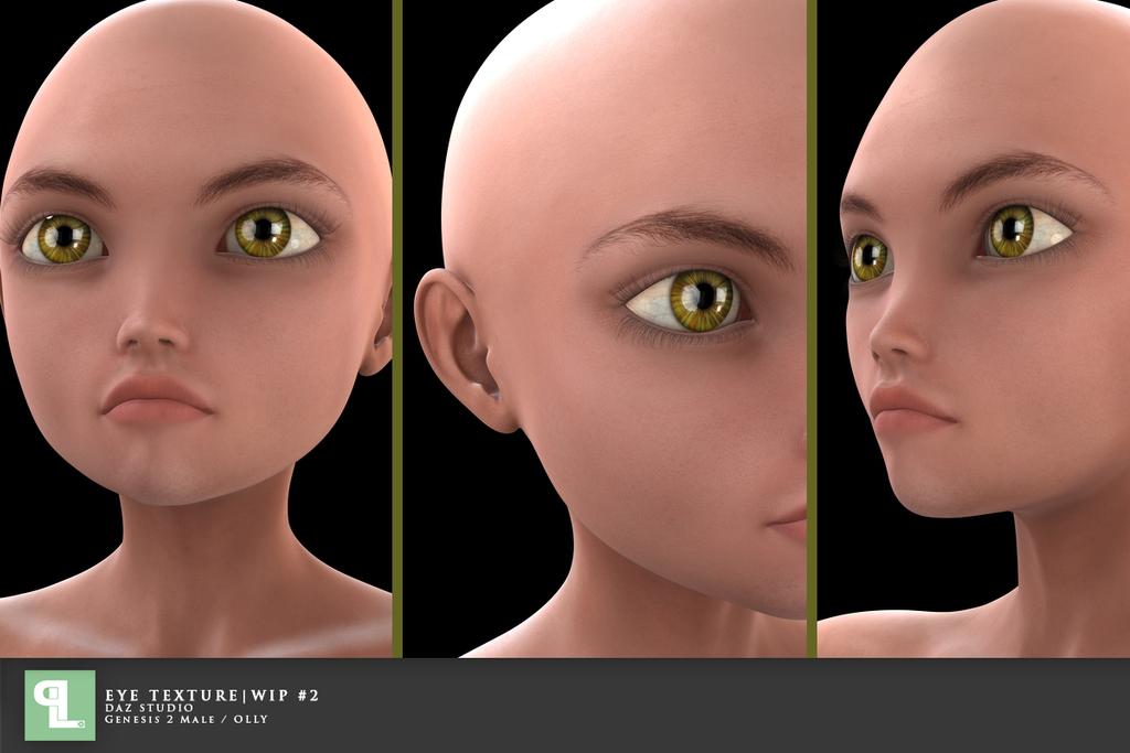 Eye Texture WIP#2 by PLArts