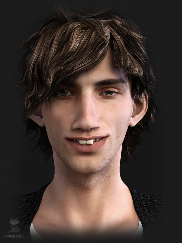 Pretty Ugly: Billy by Virtual-Fox