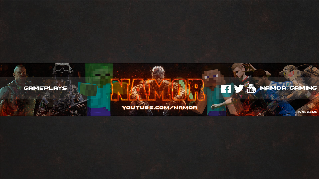 youtube gaming banners
