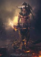 Guardian  Of  Taturus by LINGDUMSTUDOG