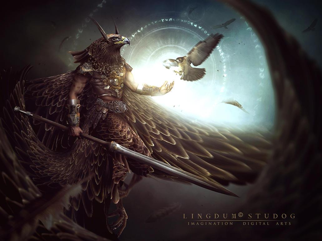H O R I U S by LINGDUMSTUDOG