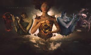 Mythology 5 Element of Mother earth by LINGDUMSTUDOG