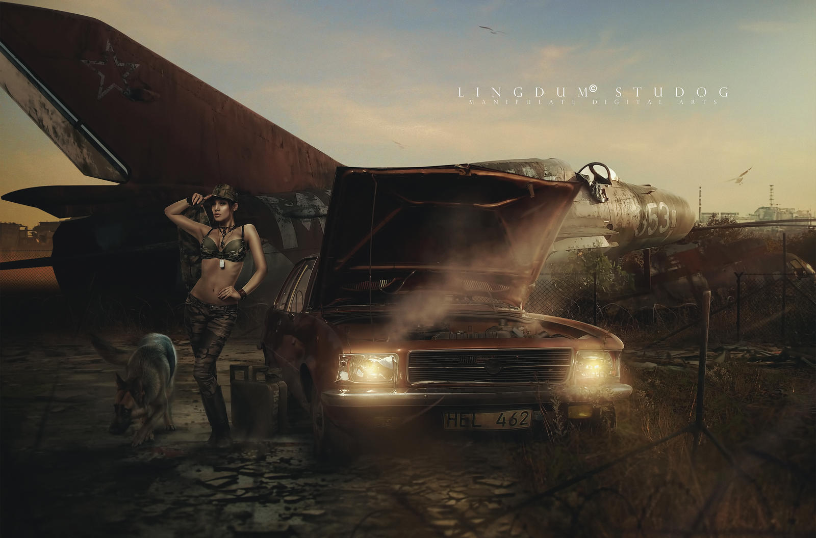 Radiator by LINGDUMSTUDOG