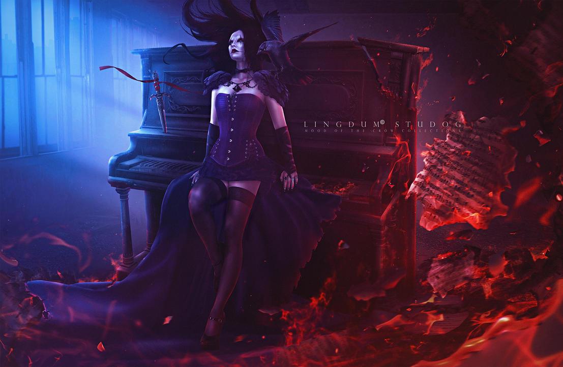 Burnt melodic by LINGDUMSTUDOG