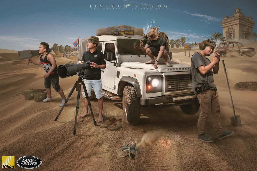 Nikon rover by LINGDUMSTUDOG