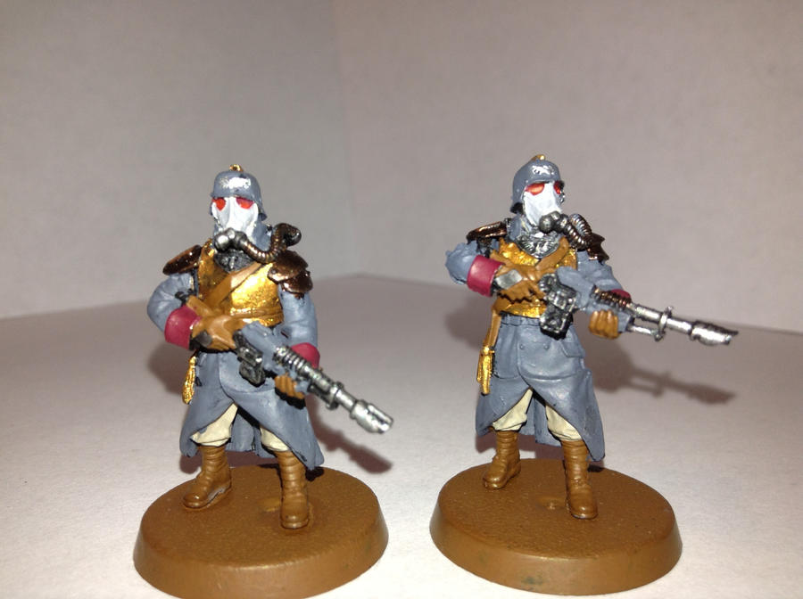Death Korps Of Krieg Command troopers by Usafkid94