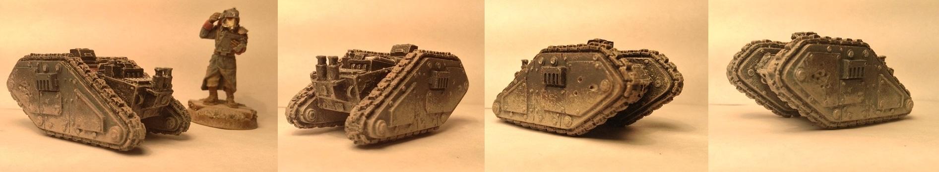 Death Korps of Krieg Cyclops Demolition vehicle by Usafkid94