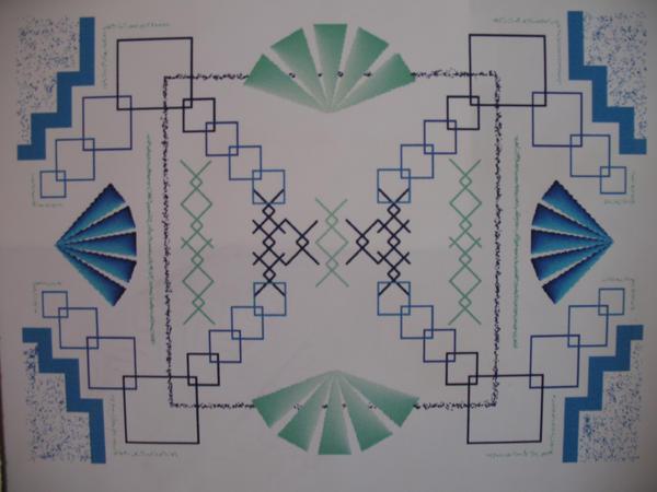 1997 - Symmetry by SilverFritillary