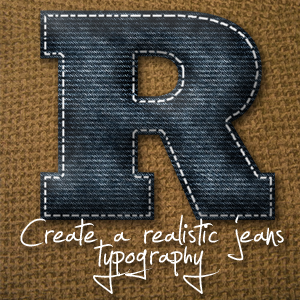 Denim Typography by richworks