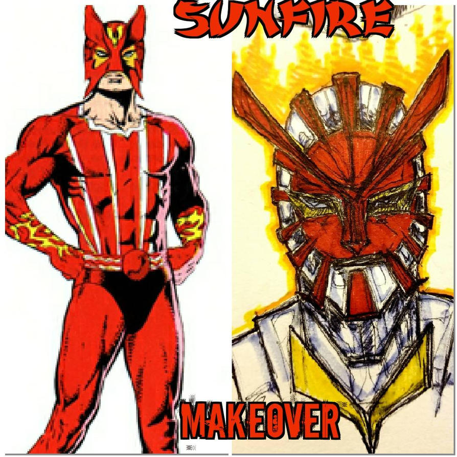 marvel comics sunfire by theroguescarecrow on deviantart