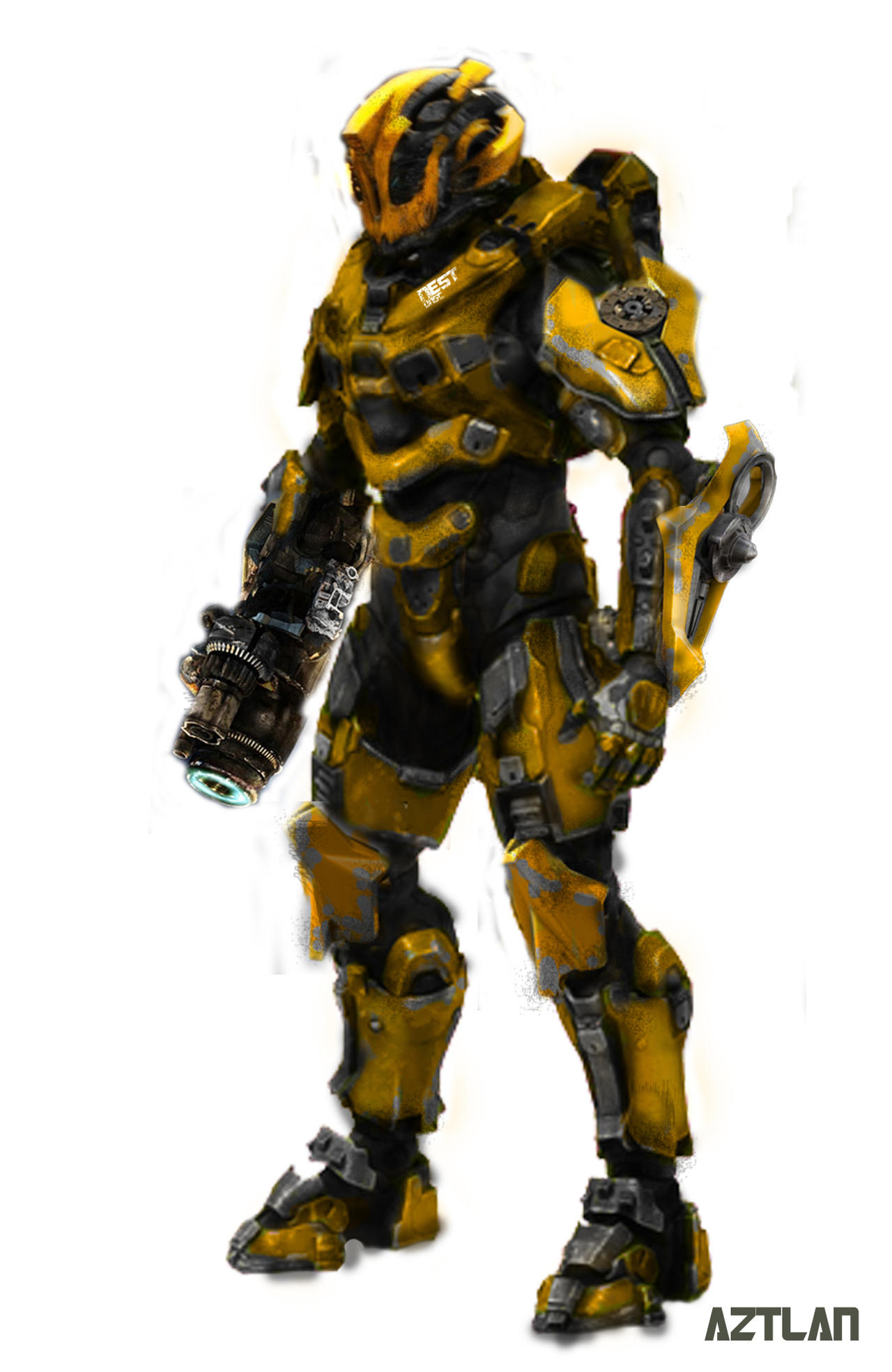 Halo 4 - Bumblebee by AZTLANN