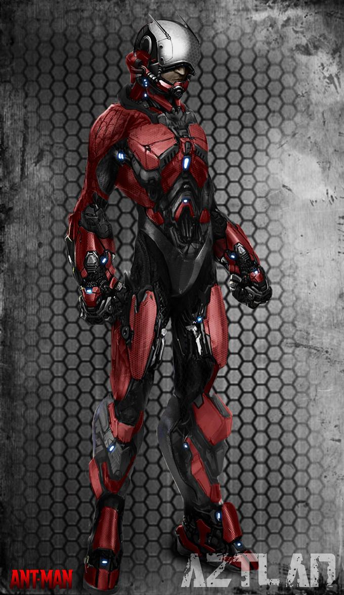 Ant-Man Art concept - AZ by AZTLANN