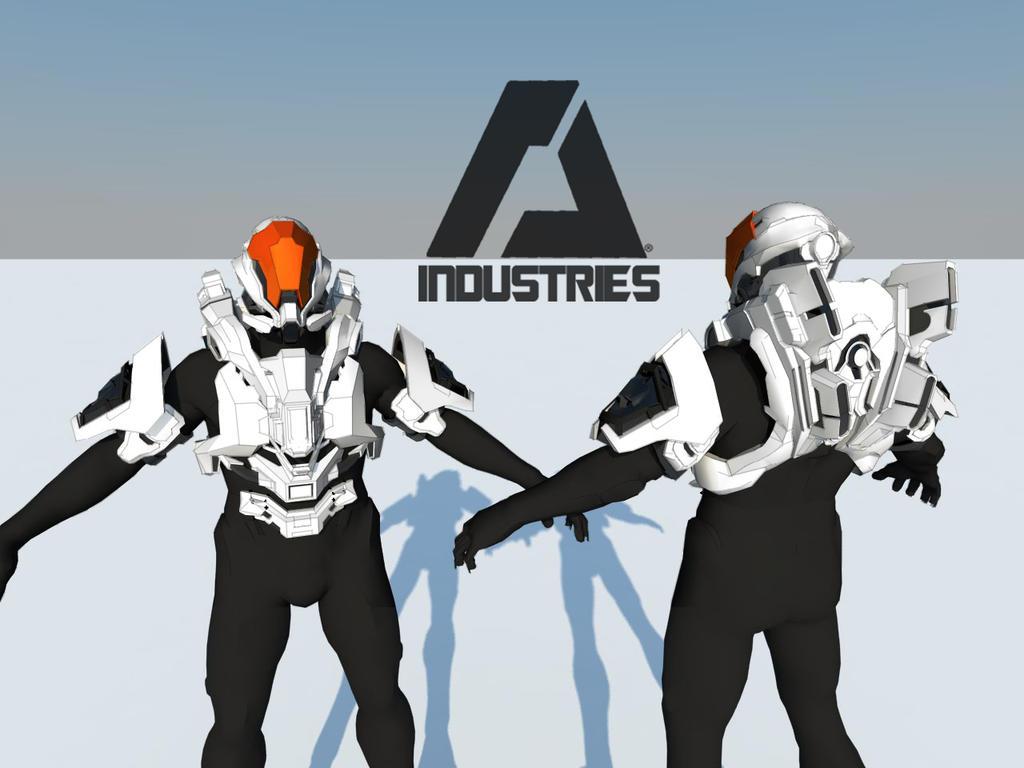 Rogue Armor - Halo 4 by ArlockArt