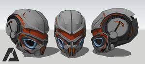 Gryllotalpa Orientalis - Helmet Concept