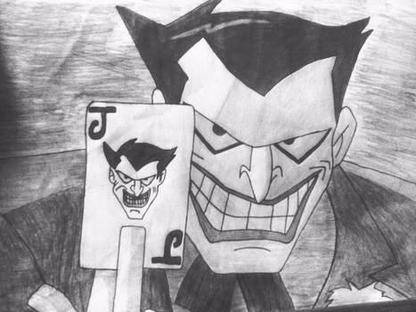 #JtsArtWork drawing of The Joker from Batman