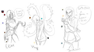 CP Oc Sketches .:Concept Sketches:. by Chibi-Works
