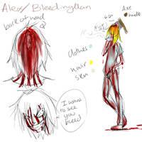 Bleeding Man ref by Chibi-Works