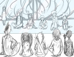 We Were All Human Once Wip Thing Idk by Chibi-Works