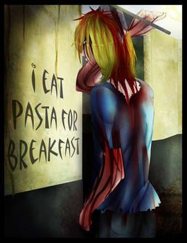 i eat pasta for breakfast pg.100