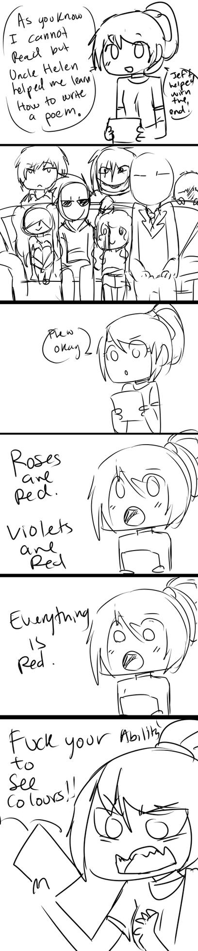 Roses are red By Lazari by Chibi-Works