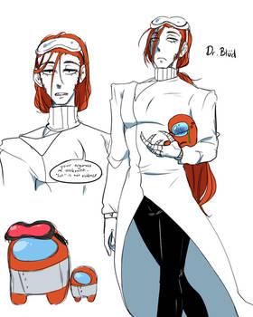 Among Us: Dr Blud Orange