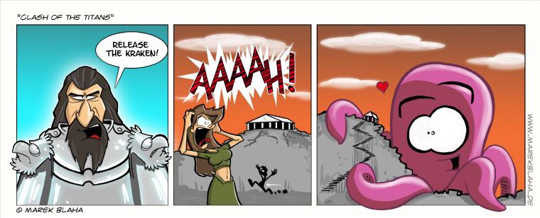 clash of the titans - kraken by MarekBlaha on DeviantArt