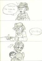 How Freddy flirts by Bakhtak