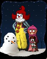 Let's build a snowman by Bakhtak