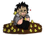 Bubba and his chicks