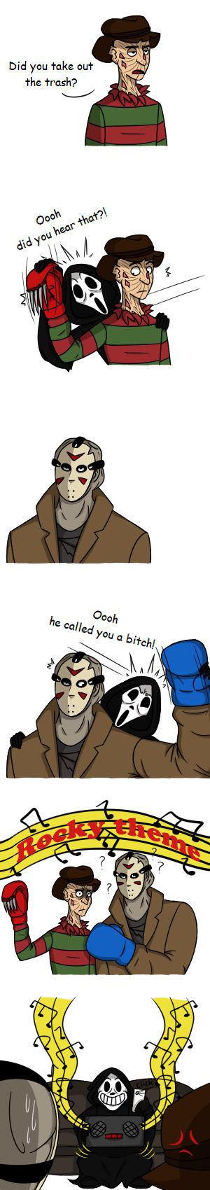 Freddy vs Jason 2 be like