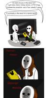 When your friend wanna watch a horror movie by Bakhtak