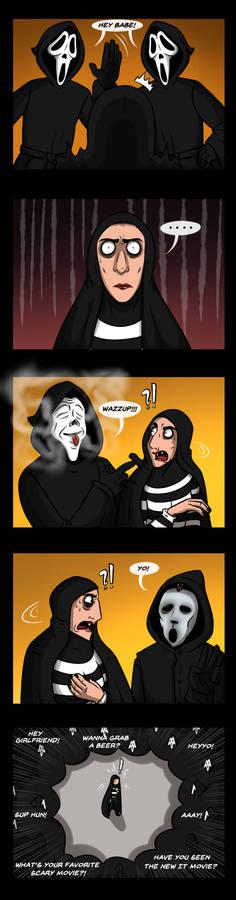 The Girl x Ghostface(s)