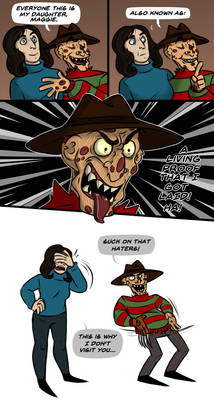 Freddy's daughter