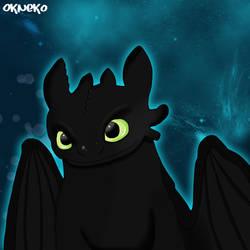 Night Fury by OKtiger