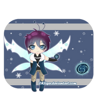 Ice Fairy Adoptable {CLOSED} by OKtiger