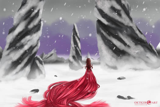 Red In The Snow