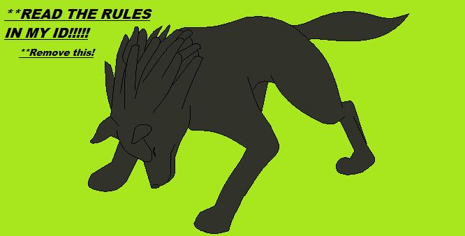 Wolf Base 2 by Devils-Pixels